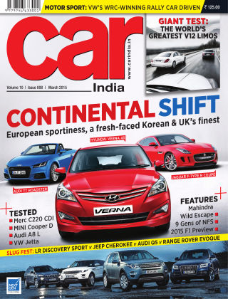 Car India March 2015