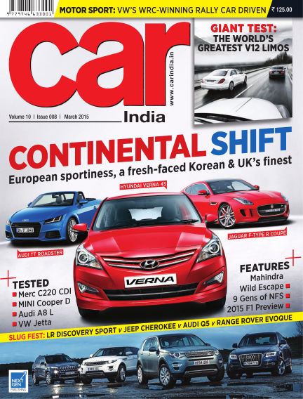 Car India March 08, 2015 00:00
