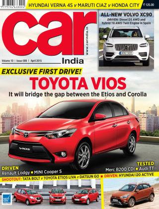 Car India April 2015
