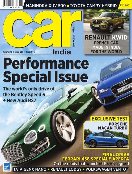 Car India May 27, 2015 00:00