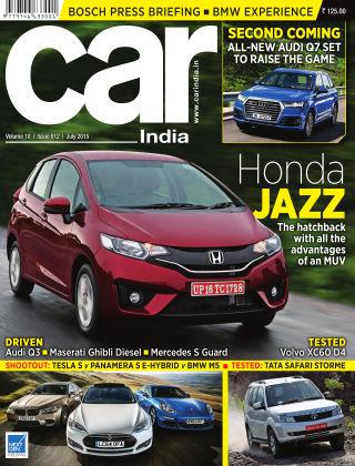 Car India July 2015