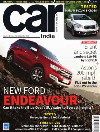 Car India September 2015