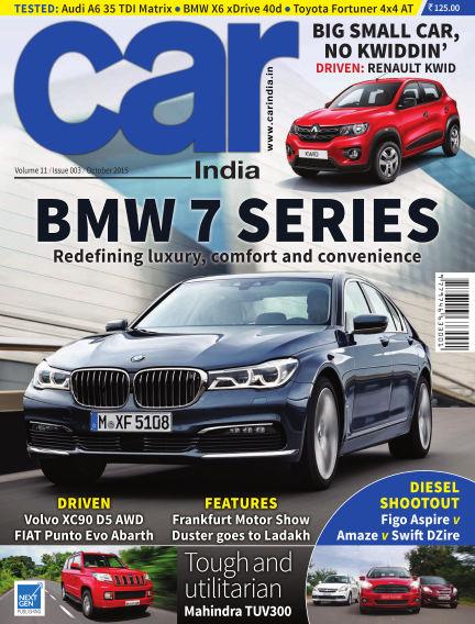 Car India October 01, 2015 00:00