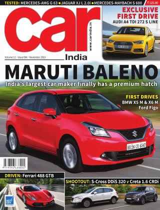 Car India November 2015