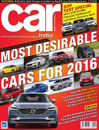 Car India January 2016
