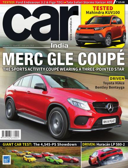 Car India February 01, 2016 00:00