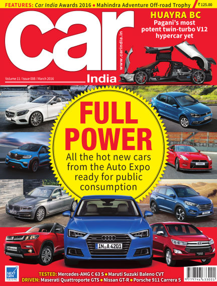 Car India March 09, 2016 00:00