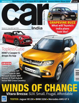 Car India April 2016
