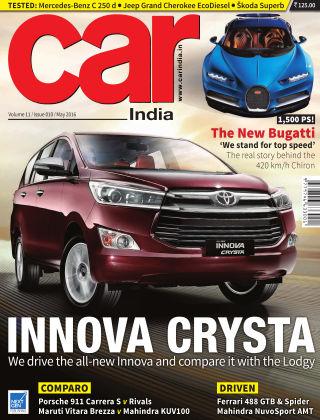 Car India May 2016