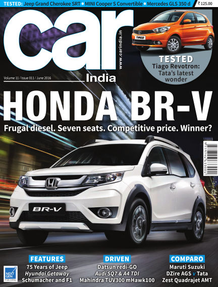 Car India May 26, 2016 00:00