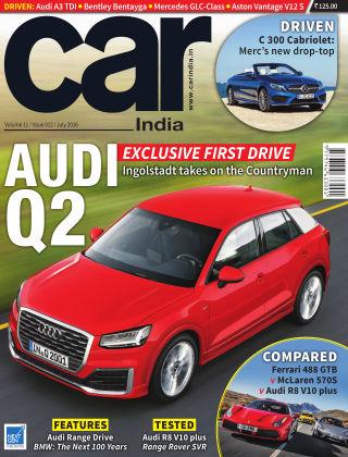 Car India July 2016