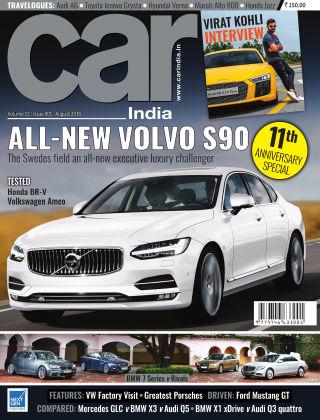 Car India August 2016