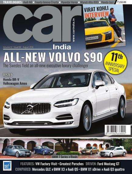 Car India August 08, 2016 00:00