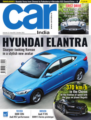 Car India October 2016