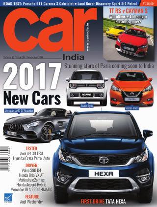 Car India November 2016