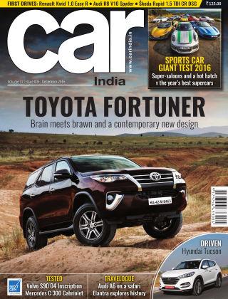Car India December 2016