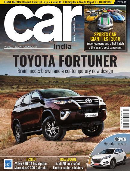 Car India November 30, 2016 00:00