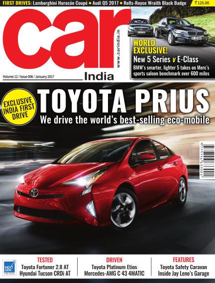 Car India December 31, 2016 00:00