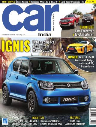 Car India February 2017