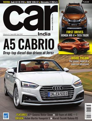Car India April 2017
