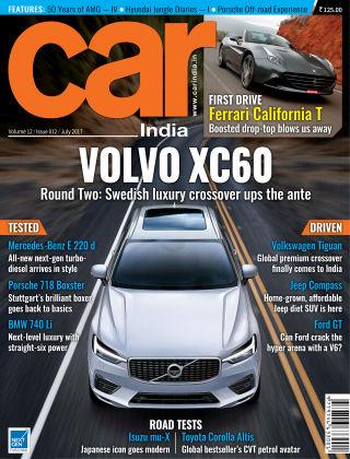 Car India July 2017