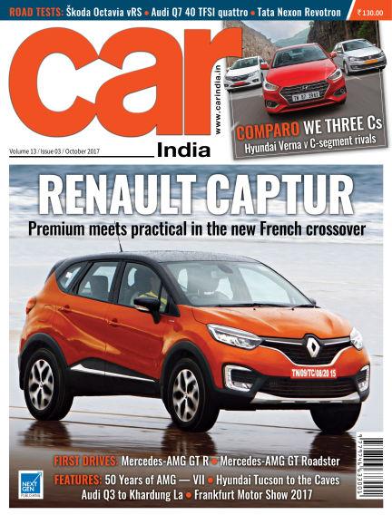 Car India September 27, 2017 00:00