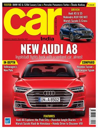 Car India November 2017
