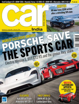 Car India January 2018