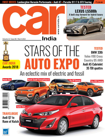 Car India March 09, 2018 00:00