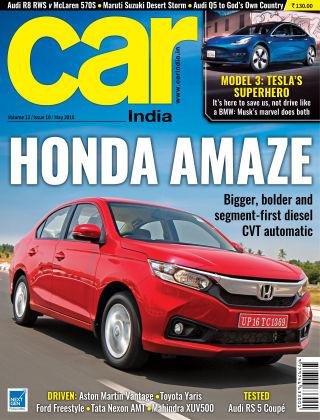Car India May 2018