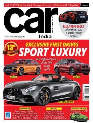 Car India August 2018