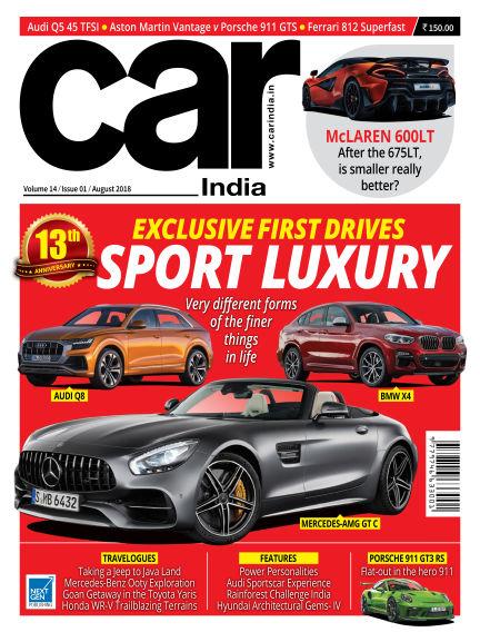 Car India August 07, 2018 00:00
