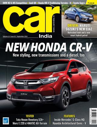 Car India Sept 2018