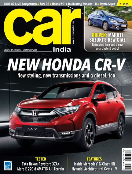 Car India August 30, 2018 00:00