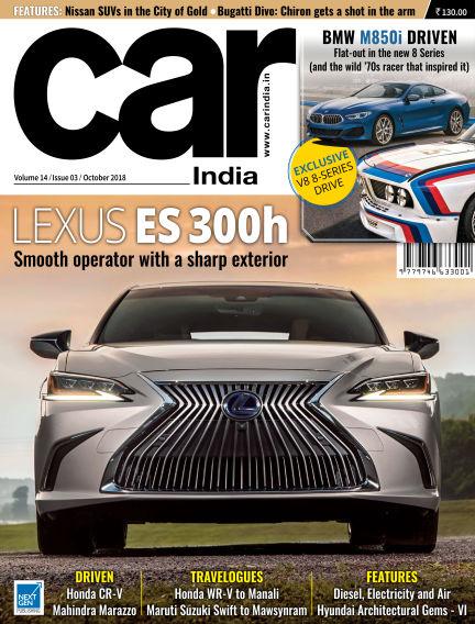 Car India October 01, 2018 00:00