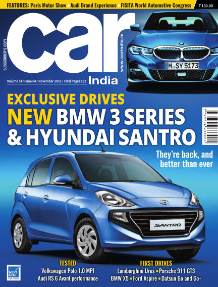 Car India November 05, 2018 00:00