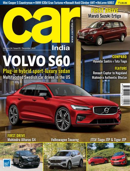 Car India December 03, 2018 00:00