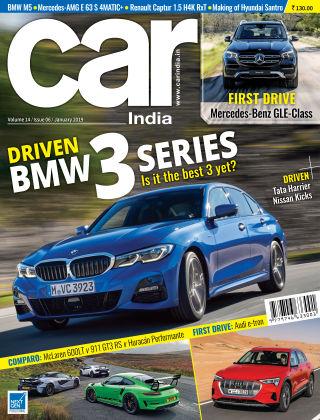 Car India January 2019