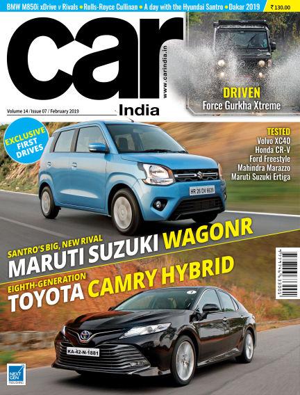 Car India February 01, 2019 00:00