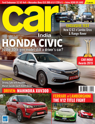 Car India March 2019