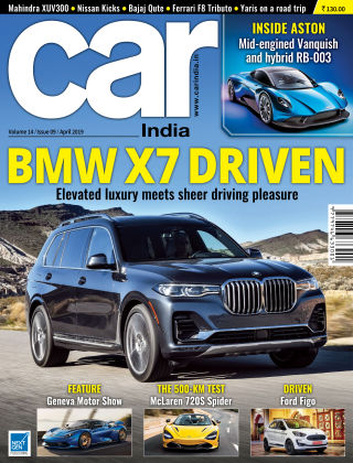 Car India April 2019