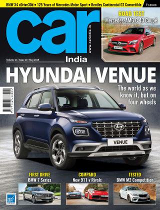 Car India May 2019