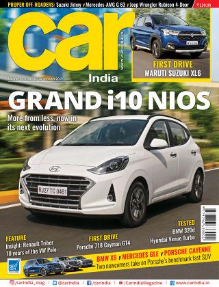 Car India September 2019
