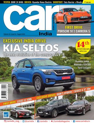 Car India August 2019