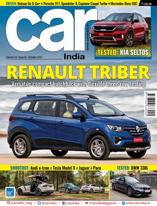 Car India October 2019