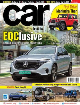 Car India September 2020