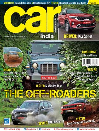 Car India October 2020