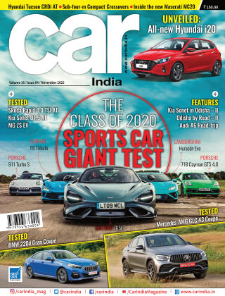Car India November 2020