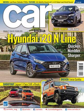 Car India October 2021