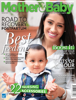 Mother & Baby India August 2015